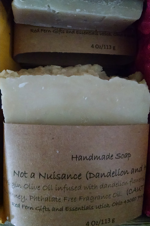 Not a Nuisance (Dandelion and Honey) Soap