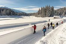 Winterwandern und Langlauf in Wildmoos.j