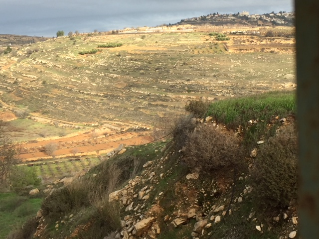 The topography of Efrat