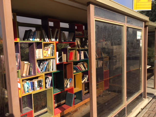 Bus stop library