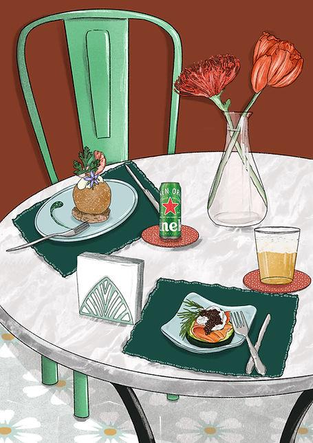 Heineken Gourmet