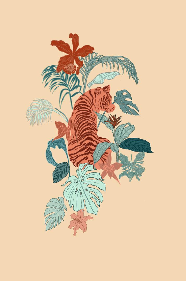 Posicional Wild Jungle