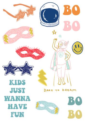 Pack de stickers BOBO CHOSES