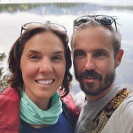Sarah Dekker and Nic Burnand