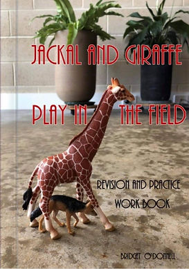 Jackal & Giraffe Play in the Field