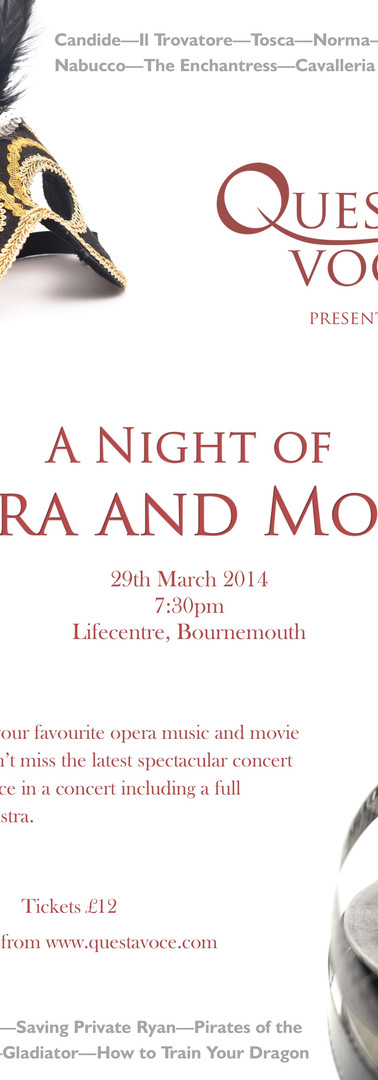 A Night of Opera and Movies