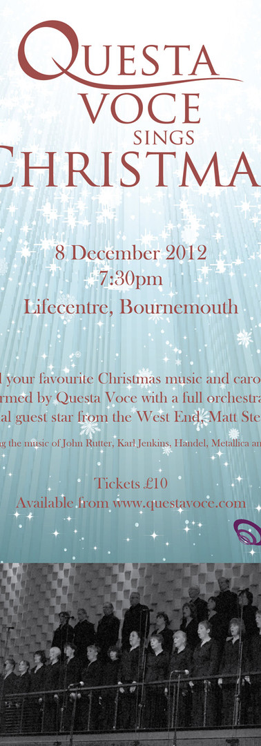 Questa Voce Sings Christmas 2012