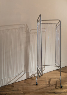 Folding Medical Privacy Screen