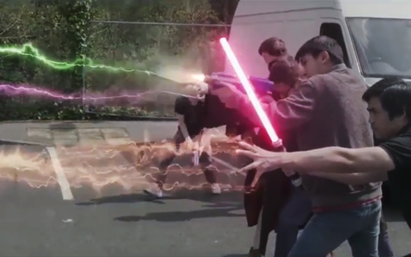 Saber effect compositing 02