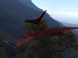 Pteranodon composition 03