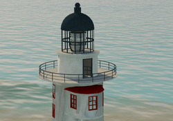 Light house texturing 02