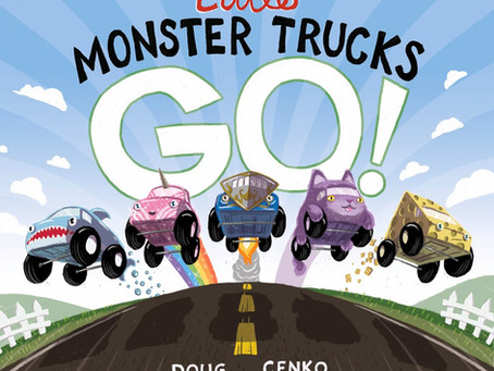 Little Monster Trucks Go! by Doug Cenko
