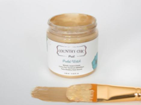 Country Chic Paint Metallic Cream