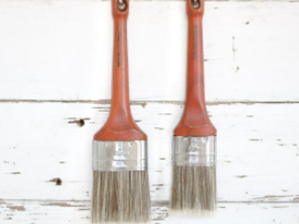 Country Chic Paint Oval Brush