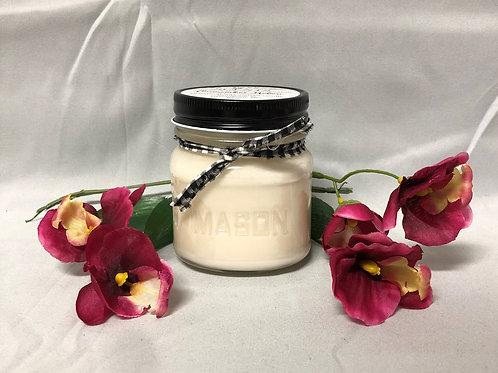 Small Mason Jar Candle