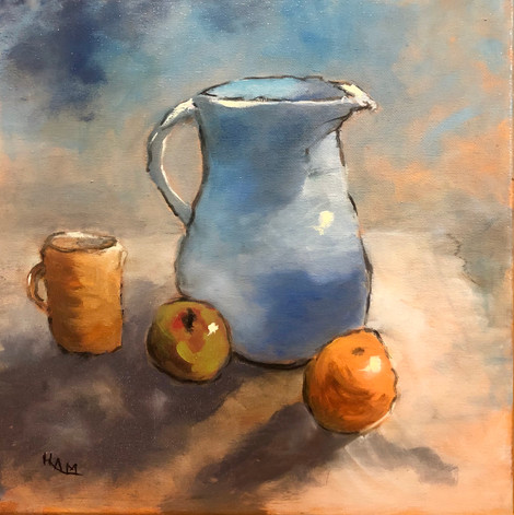 Pitcher Mug & Fruit