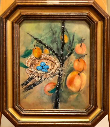 Blue Eggs & Peaches