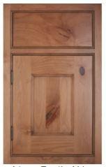 Beaded framed inset cabinet