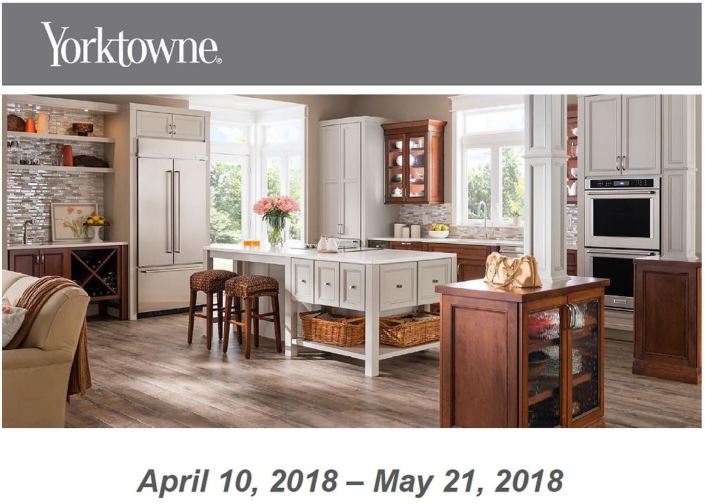 Yorktowne Cabinetry Spring Sale