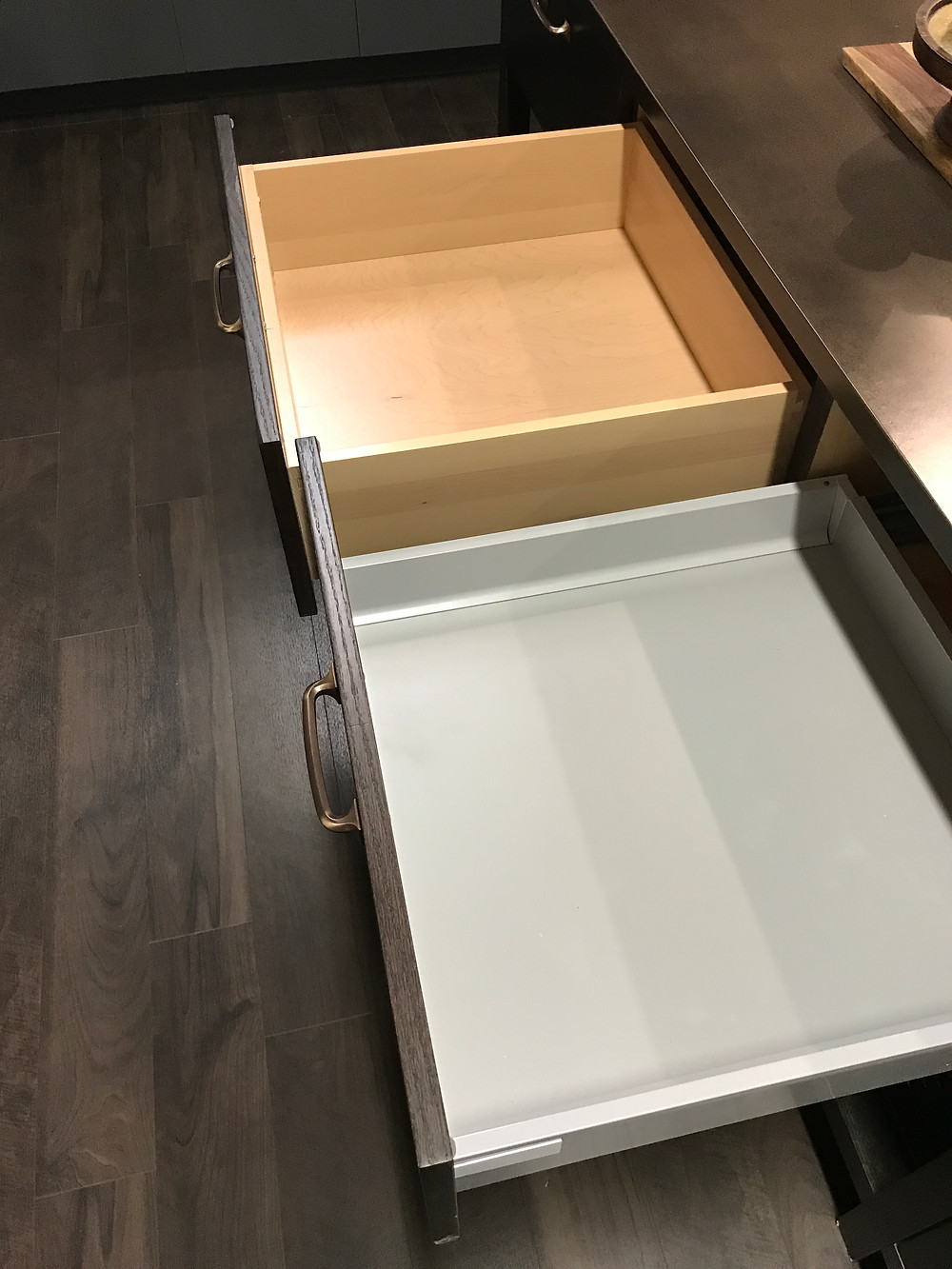Drawer options from Design-Craft Cabinets
