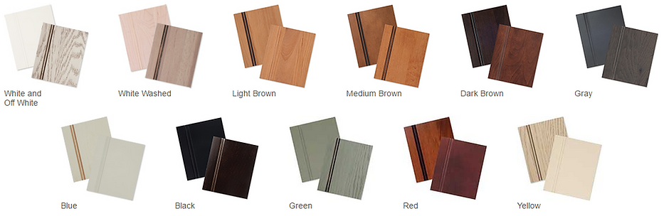 Thousands of finishes available from StarMark Cabinetry