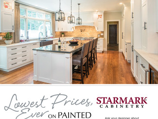 Lowest Price EVER on Painted Cabinets