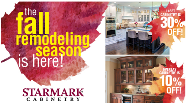 StarMark Cabinetry Fall Promotions