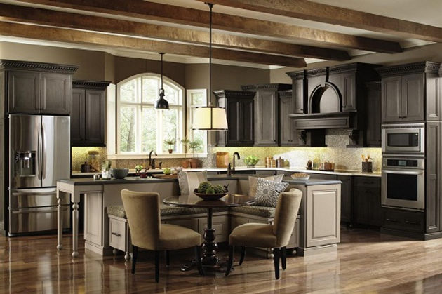 Omega Cabinets are back! | Kitchen Cabinets | Hand Built in ...