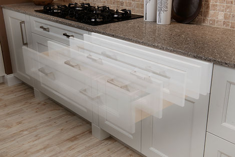Quiet Close Full Extension Dovetailed Strong Kitchen Drawer