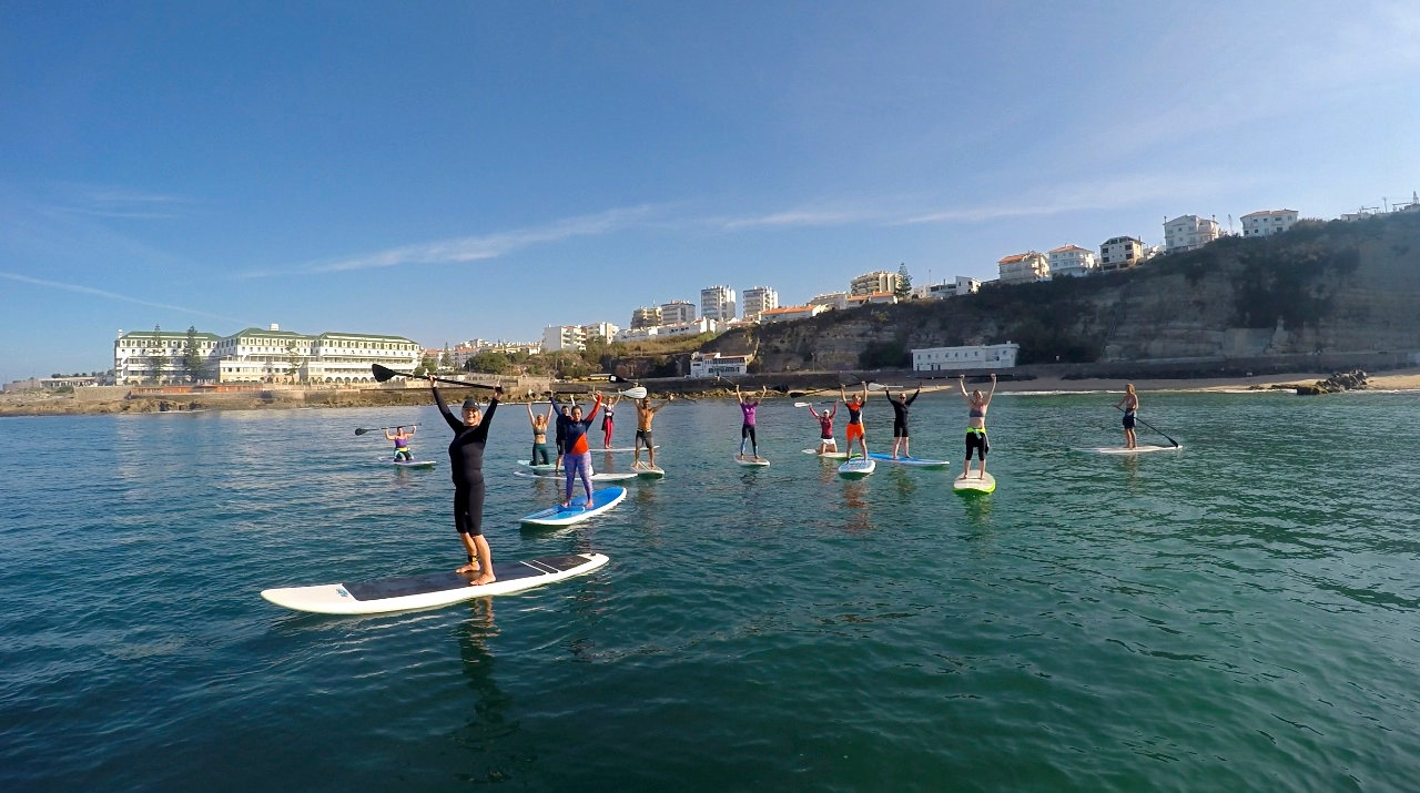 Stand Up Paddle Session