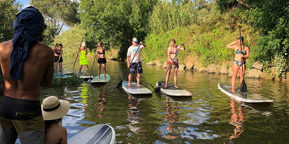 SUP TOUR IN THE RIVER