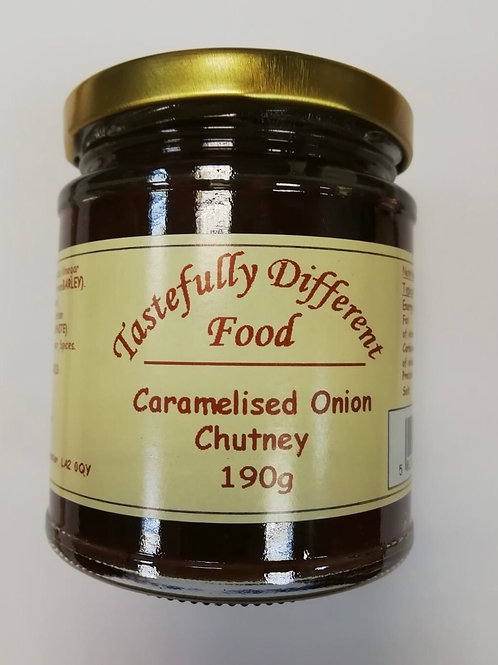 Caramelised onion chutney - 190g