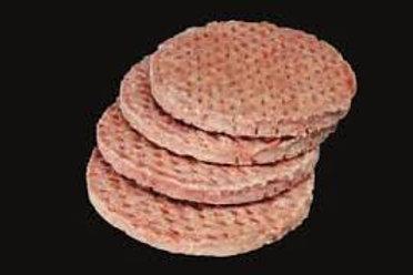Frozen gourmet steak house burgers - 12 x 4oz