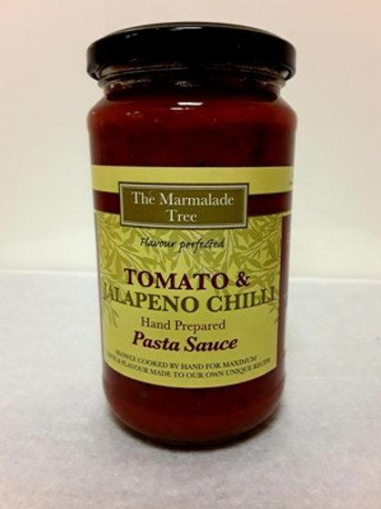 Tomato & jalapeno chilli - The Marmalade Tree - 470g