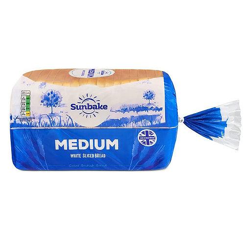 Medium sliced white loaf - 800gm