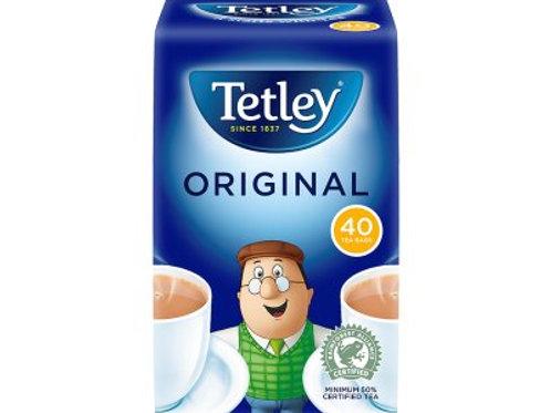 Tea - Tetley 40 bags