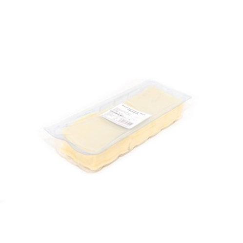Sliced mild cheddar cheese - 1kg