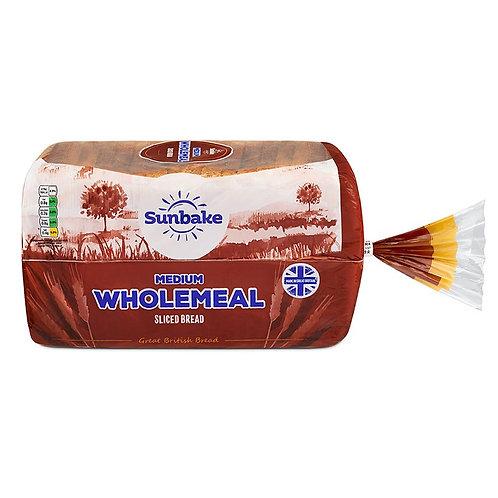 Medium sliced wholemeal loaf - 800g