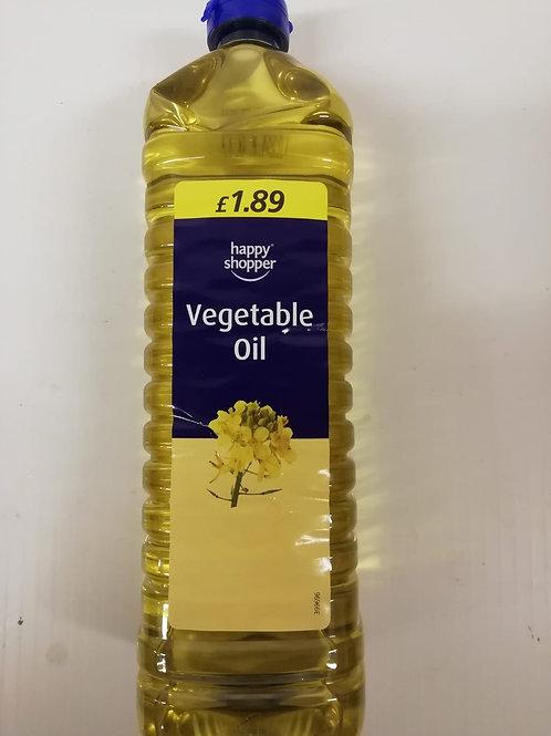 Vegetable oil - 1 litre
