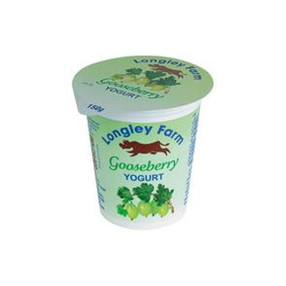 Longley Farm Gooseberry yogurt - 150g