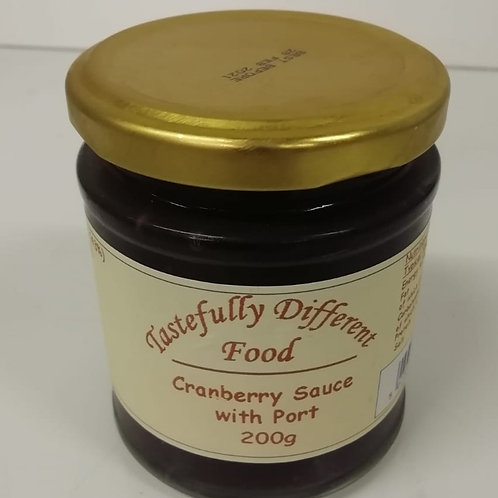 Cranberry sauce with port - 200g