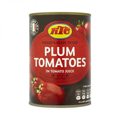 Plum tomatoes in tomato juice - 400g