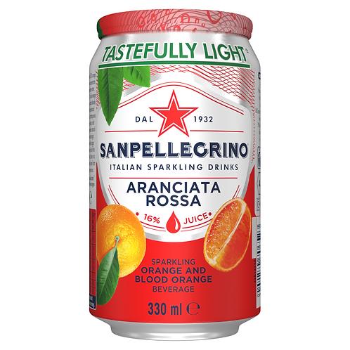 Sanpellegrino orange & blood orange - 6 x 330ml
