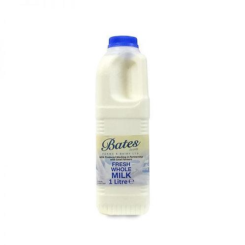 Whole milk - 1 litre