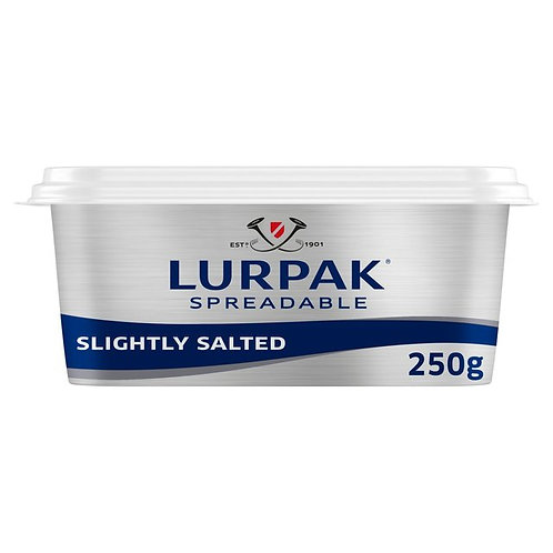 Lurpak spreadable slightly salted - 250g