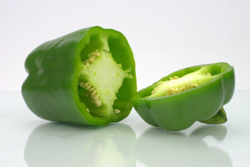 Pepper - green capsicum