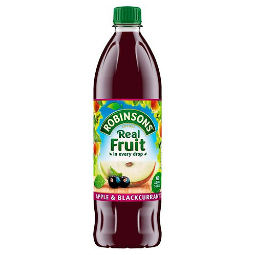 Robinsons apple & blackcurrant - 1 litre