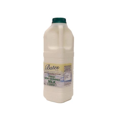 Semi skimmed milk - 1 litre
