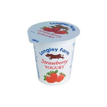 Longley Farm Strawberry yogurt - 150g