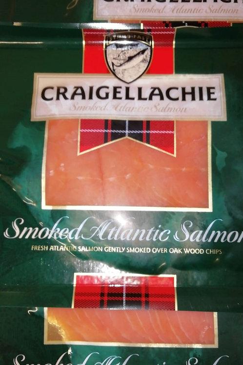 Smoked Atlantic salmon - 125g